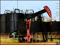Campo petrolero en Zulia, Venezuela.