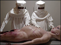 Ant and Dec in Alien Autopsy