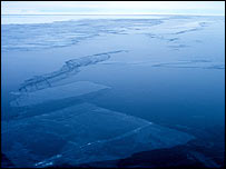 Sea ice in Ross Sea, Antarctica   Image: Noaa