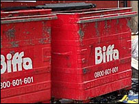 Biffa waste bins
