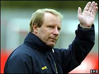 Former Scotland and Germany manager Berti Vogts