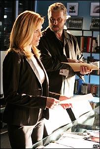 A scene from CSI