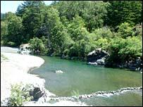 River Van Duzen which flows through Bridgeville