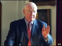 British Defence Secretary Dr John Reid