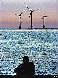 Windfarm off the Norfolk coast, UK (Image: PA)