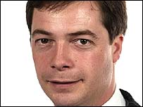 UKIP's Nigel Farage