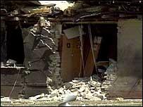 Scene of 1989 Osnabruck blast