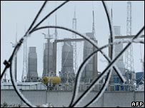 Gas transmission plant in Belarus