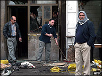 Baghdad shopkeepers