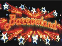 Barrowland sign