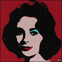 Andy Warhol's Liz
