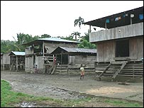 An indigenous settlement in Choco (Image: UNHCR/M Verney)