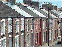 South Wales valleys street