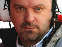 Mike Gascoyne, who has been suspended as technical director of the Toyota F1 team