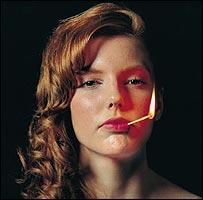 Josephine Meckseper's work Pyromaniac 2