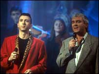 Pitney duetting with Marc Almond in 1989