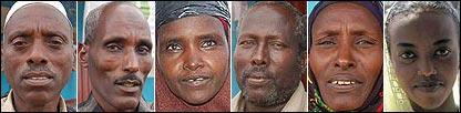 Composite image of Moyale community in Ethiopia