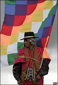 Indígena Aymará.