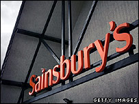 Sainsbury's supermarket in Cobham, Surrey, England