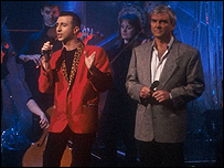 Gene Pitney performs with Marc Almond