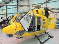 East Anglia's new air ambulance