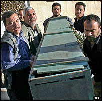 Coffin in Kirkuk