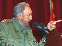 President Fidel Castro