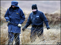 Irish police searching for clues