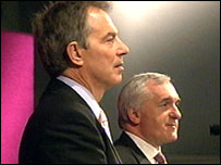 Mr Blair and Mr Ahern have outlined their blueprint for devolution