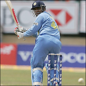 Sehwag helps to build a strong platform for India