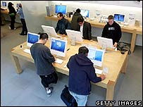 Apple store in the US