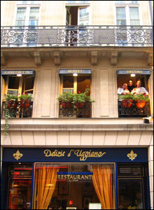 Restaurant facade, Paris