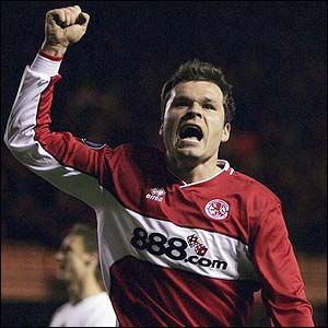 Viduka scores his second of the night