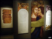 """Exposición sobre el """"Evangelio de Judas""""."""