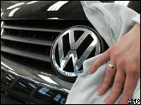 Volkswagen logo, AFP/Getty