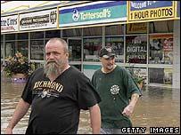 Flood victims in Katherine, north Australia