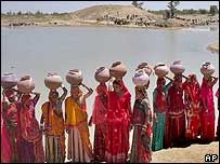 Village women in Rajasthan