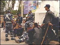 Police in Kathmandu