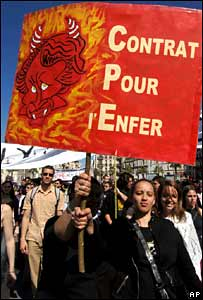 Demonstration in Marseille