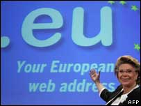 New .eu domain unveiled, AFP/Getty