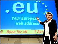 EU Information Society and  Media Commissioner Viviane Reding