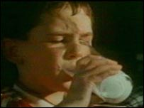 1980s television commercial for the Milk Marketing Board