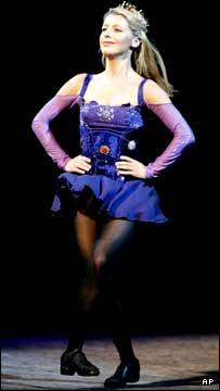 Riverdance Irish Dance Troupe lead dancer Melissa Convery