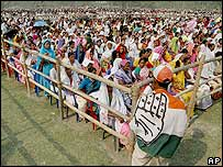 Campaign rally in Assam