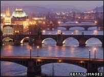 Prague landscape, Gettty