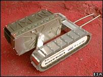 ESA nano-rover (Image: ESA)