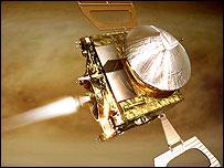 Imagen computacional de Venus Express, Esa.