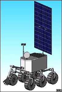 Lunar polar regional rover (Image: ESA CDF lunar study)