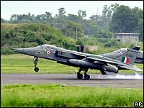 Indian Air Force Jaguar fighter aircraft