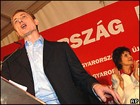 Prime Minister Ferenc Gyurcsany